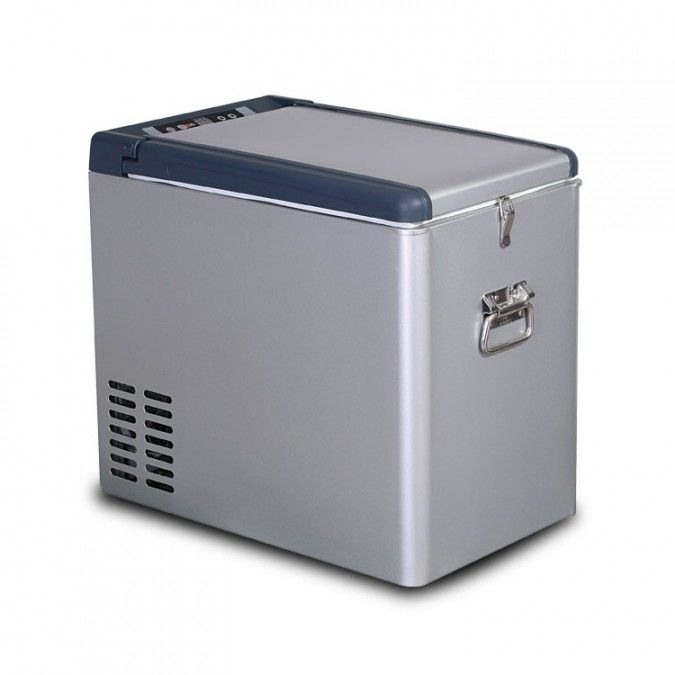 35L Portable 24V DC Compressor Direct Cooling Car Mini Fridge , Mini Cooler Fridge Swing Door Type