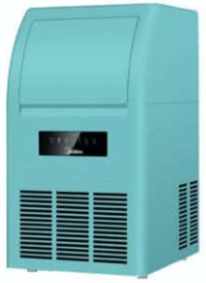 Fast Cooling Saving Energy Automatic Ice Maker Machine 8kg Ice Storage Capacity With Excellent Appearance,40kg/24h,40C